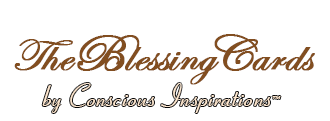 Blessing Cards by Conscious Inspirations